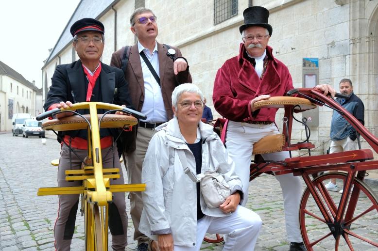 Keizo Kobayashi, Christophe Lagrange, Christine Reviron, Alain Cuvier (c)Andre CHABOTEAU